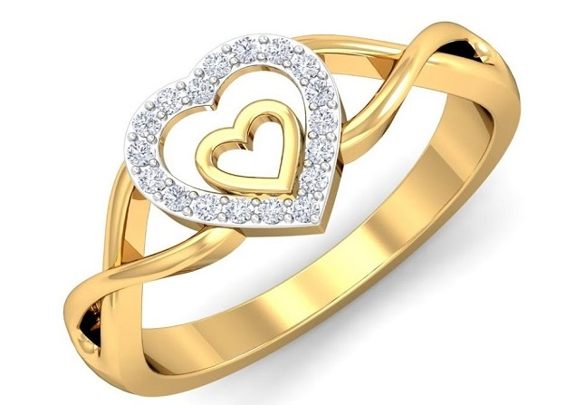 Diamond symbol of love
