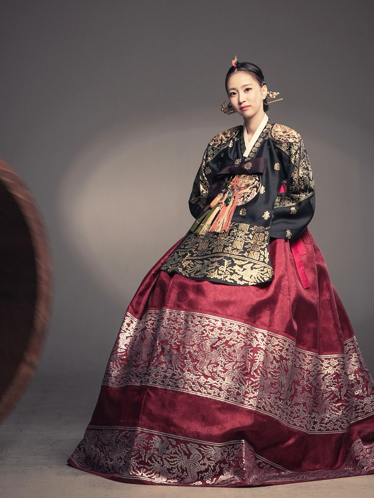 culture and modern hanbok dress